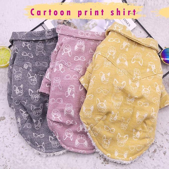 Amazon.com : BingYELH Pets Dog Winter Warm Vest for French Bulldog Frenchie Pug Corgi Puppy Clothes Shirt Cold Weather Fleece Coat : Pet Supplies