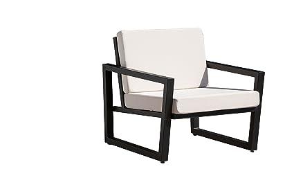 Amazon Com Elan Furnitur Vero Outdoor Lounge Chair Bird S Eye