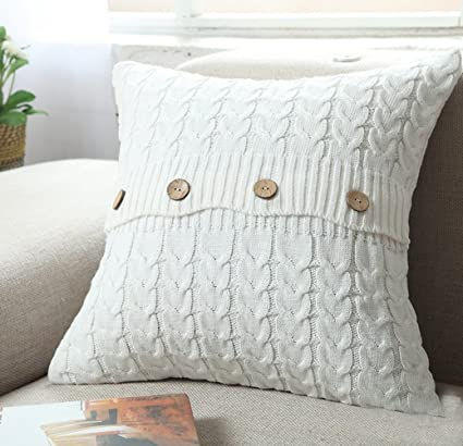 Amazon Home Organizer Tech Cotton Removable Knitted Decorative