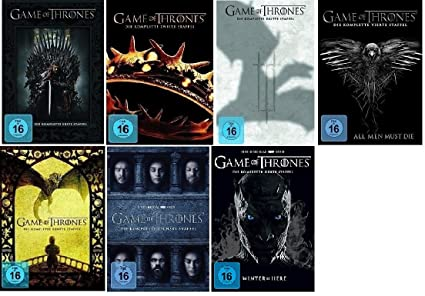 Game Of Thrones Staffel 1 7 1234567 Dvd Set