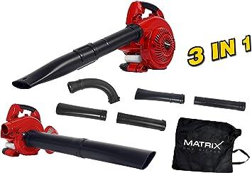 Matrix aspirador soplador Gasolina, 320200240: Amazon.es: Bricolaje y herramientas