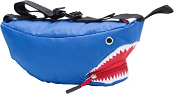 I Love Whale Sharks Canvas Running Waist Pack Bag Travel Sports Money