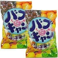 Koeido 幸荣堂 什锦水果味气泡糖95g*2(日本进口)