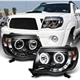 LABLT Headlight Assemblies Replacement for 2005-2011 Toyota Tacoma LED Projector Automotive Pair Of Passenger & Driver Side