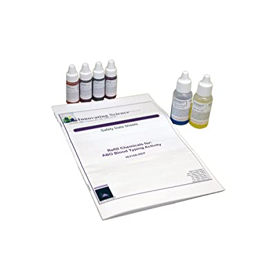 Innovating Science Refill for ABO Blood Typing Kit IS3100: Industrial & Scientific