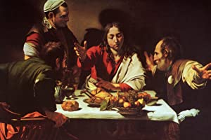 Caravaggio The Supper at Emmaus 1601 Oil On Canvas Italian Baroque Master Painter Cool Wall Decor Art Print Poster 12x18
