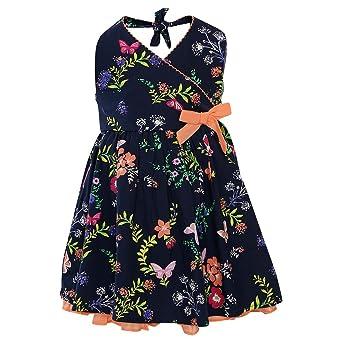 nauti nati Baby Girls' A-Line Midi Dress Dresses & Jumpsuits at amazon