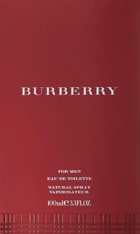 Burberry Mens Classic Eau De Toilette Spray 34 Fl Oz London For Men Non Box Luxury Beauty