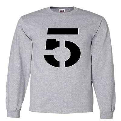 "The Silo LONG SLEEVE GREY New England Brady ""TB 5"" T-Shirt"