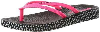 Ipanema Damen Bossa Soft Fem Zehentrenner, Mehrfarbig (Pink/Green), 37 EU