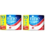 FINE Toilet Paper Extra Strong 150 Sheets 3 Ply / Pack of 24 Rolls