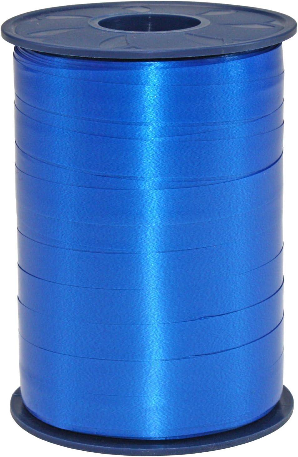 Pr/äsent C.E Pattberg Ruban 10 mm 250 m Ruban /à friser Fleurs Bleu