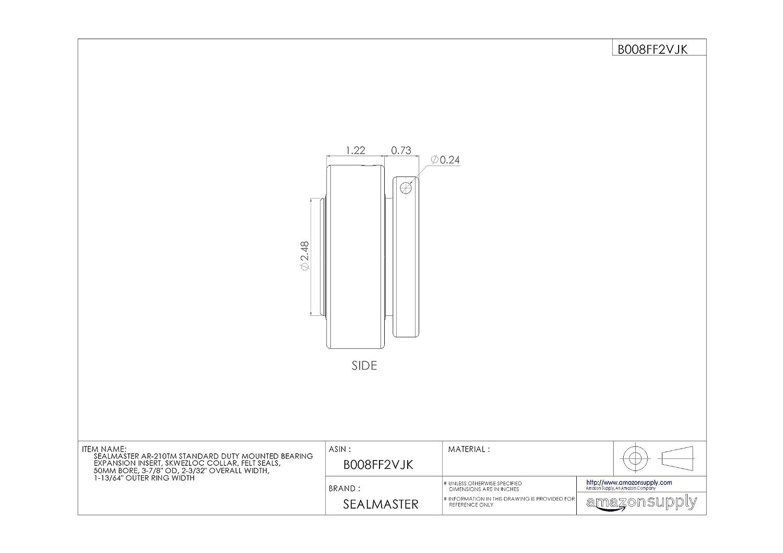 Amazon.com: sealmaster ar-210tm Standard Duty montado ...