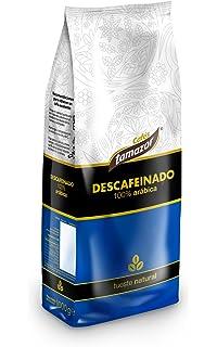 Tamazor - Café En Grano Descafeinado Natural Arabica 100% - 1000 g.