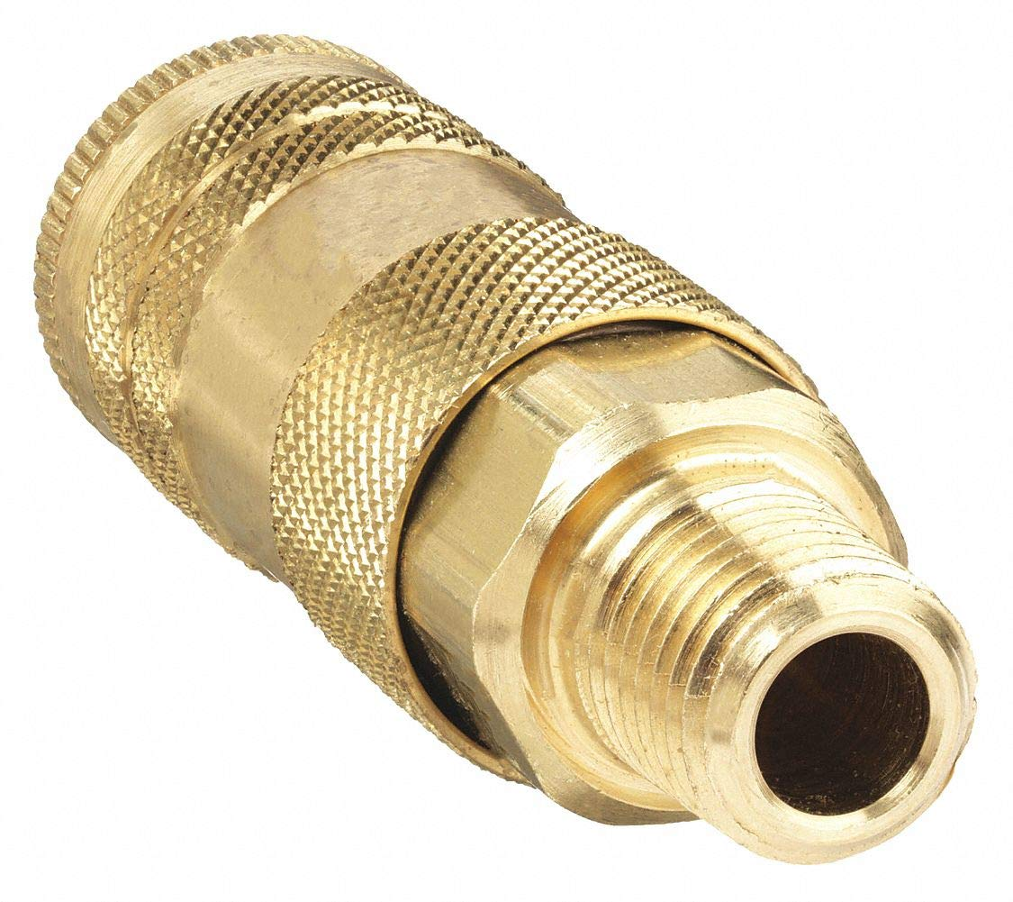 1//4 In Pipe Brass Coupler Body MNPT
