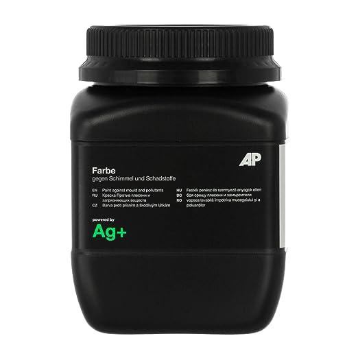 Ag+ Farbe gegen Schimmel und Schadstoffe, 1l, chlorfreie Anti-Schimmel-Farbe