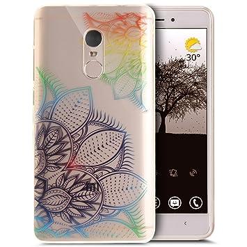 Funda Xiaomi Redmi Note 4,Colorido arte pintado patrón ...