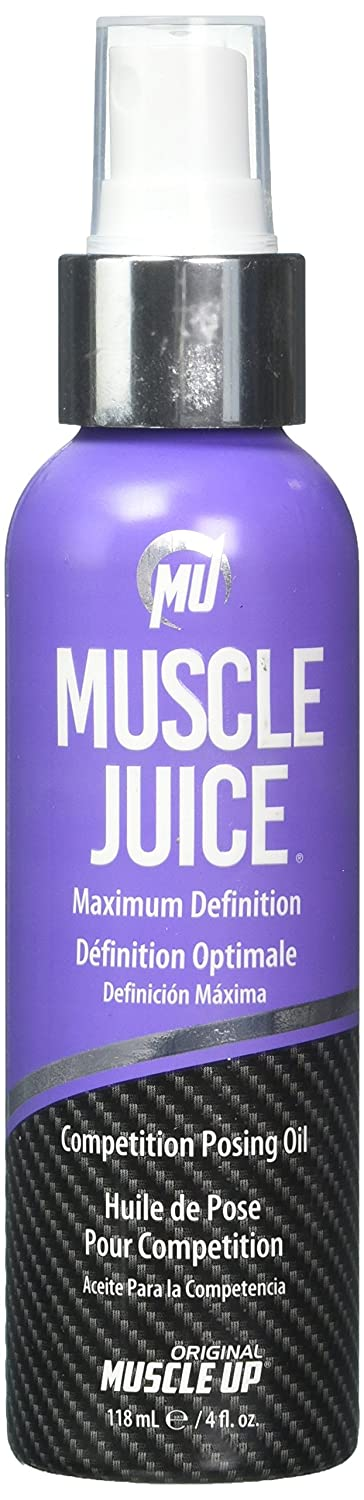 ProTan Muscle Juice Competition Posing Oil, Maximum Definition, 4 Fluid Ounce, 118.5ml The Art Wall CA Beauty PS03