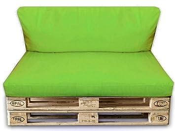 palettenkissen set 2er set sitzpolster 120x80x15cm ruckenkissen 120x40x10cm in outdoor palettenpolster kissen mobel