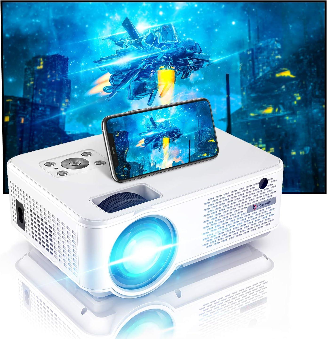 Bomaker Projector, Full HD 1080P