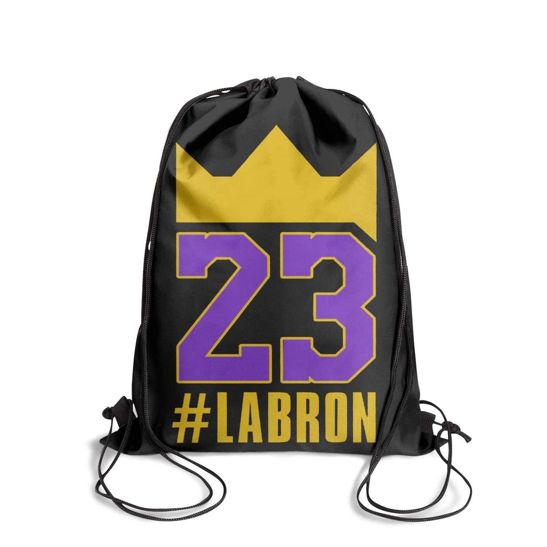 GUYI3 Drawstring Hiking Personalized Labron-King-23-Player Drawstring Bags for Women /& Men