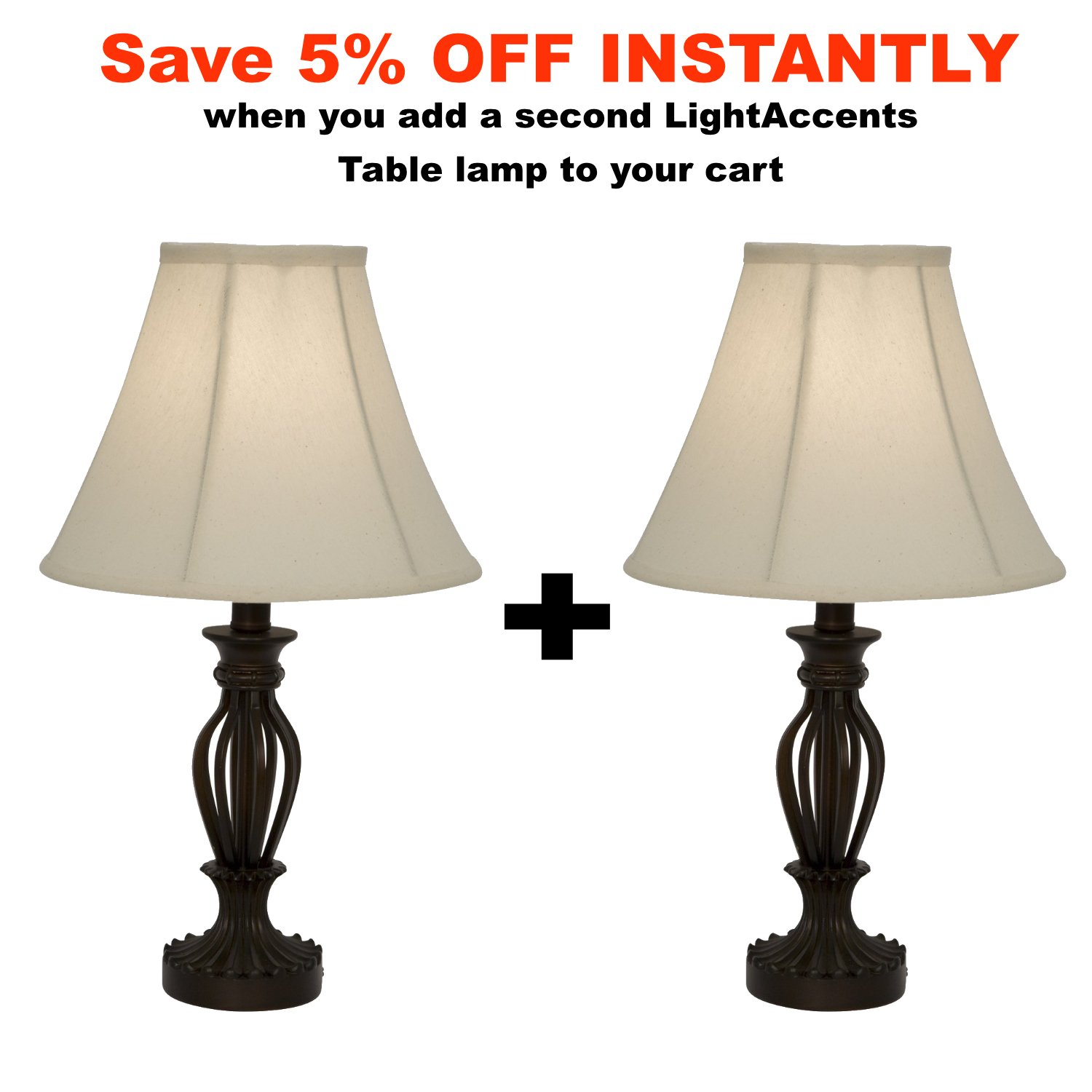 Clove battery operated cordless table lamp amazon - Light Accents Table Lamp 18 5 Inches Height Traditional Iron Scrollwork Table Lamp Bronze Amazon Com