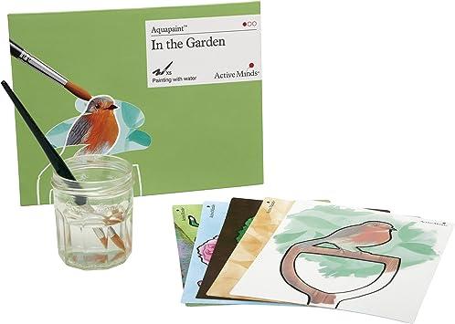 Active Minds En El Jardín Aquapaint: Pintura de Agua Reutilizable / Actividad artística para Personas ancianas con Demencia / Alzheimers: Amazon.es: Juguetes y juegos