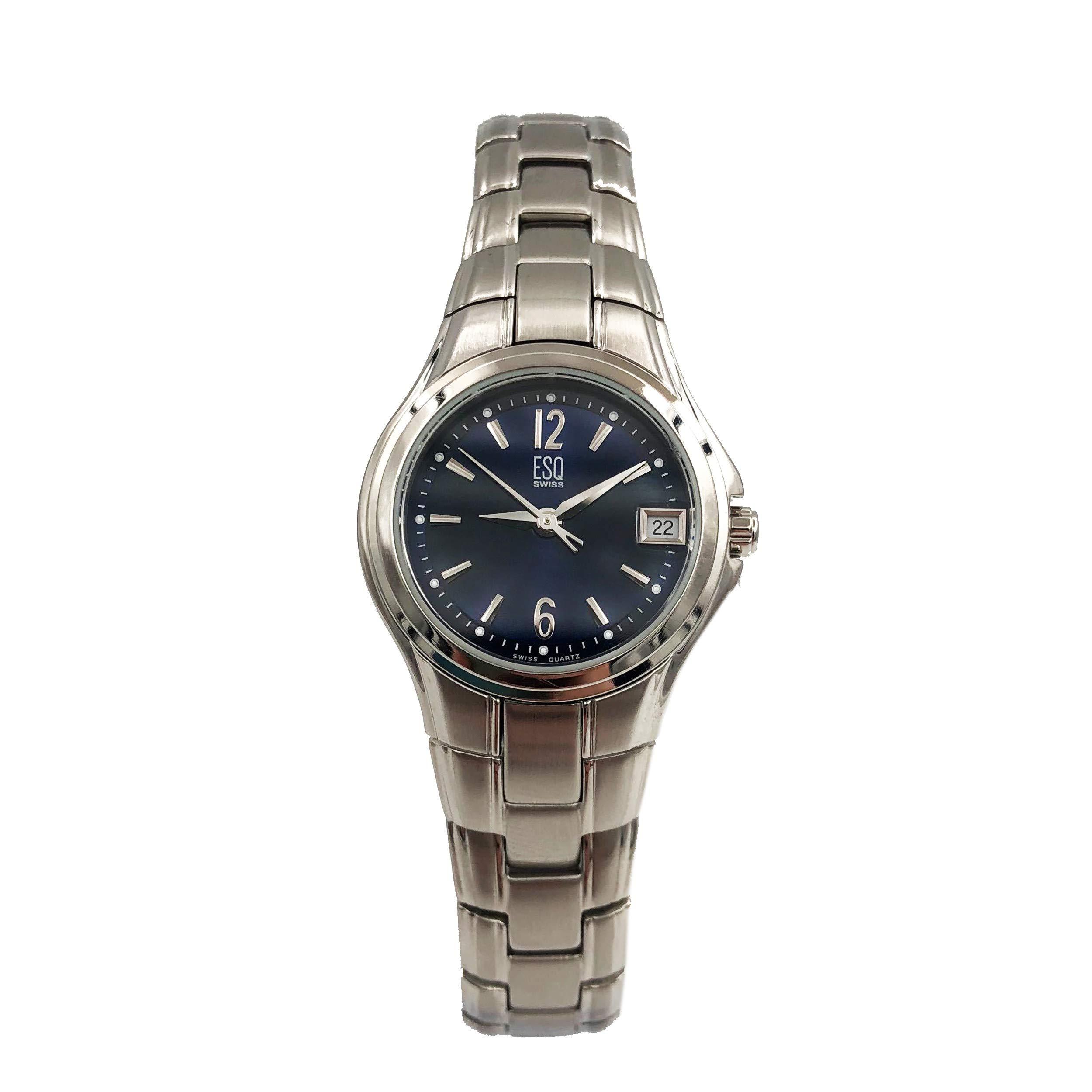 ESQ Previa Quartz Male Watch 07100951 (Certified Pre-Owned)