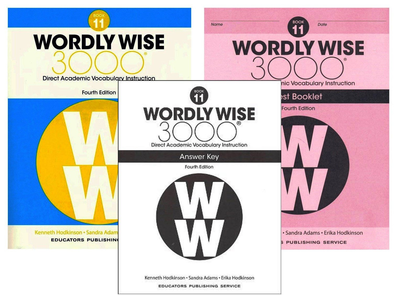 Wordly Wise 3000 4th Edition Grade 11 Set Student Book Test