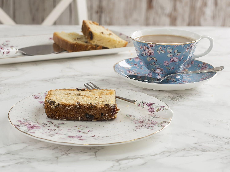 Katie Alice Ditsy Floral Azul Juego de té de la Tarde