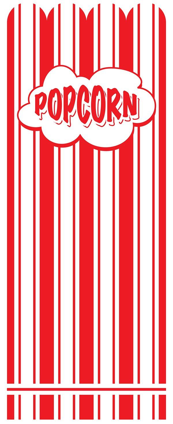 Popcorn Bags 3x2x9 1,000 Bags per case McN # 320382A