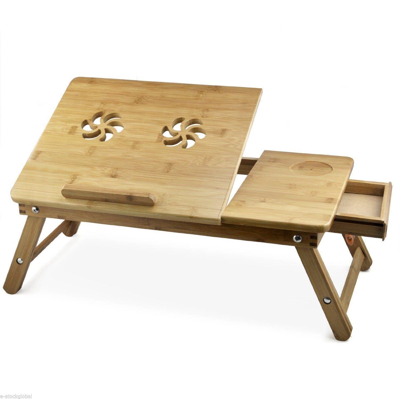 7trees foldable wooden lap desk laptop table with height rh amazon in wooden lap desk history vintage wooden lap desk