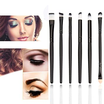 Amazon.com: Huainsta Brush Rhinestones Makeup Brushes Set Tools Face ...