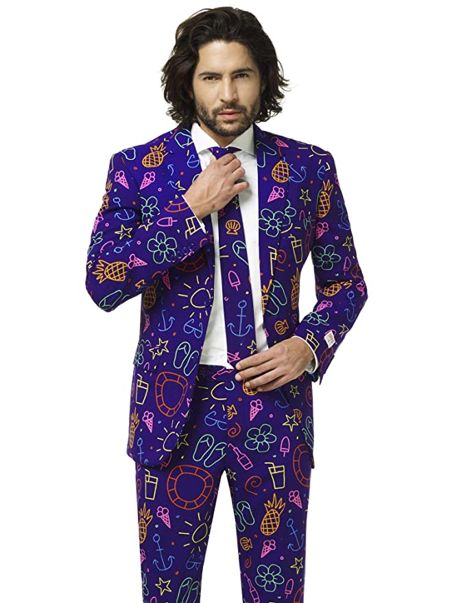 OppoSuits Tropical Suits of Colorful Fancy Outfits for Men ...