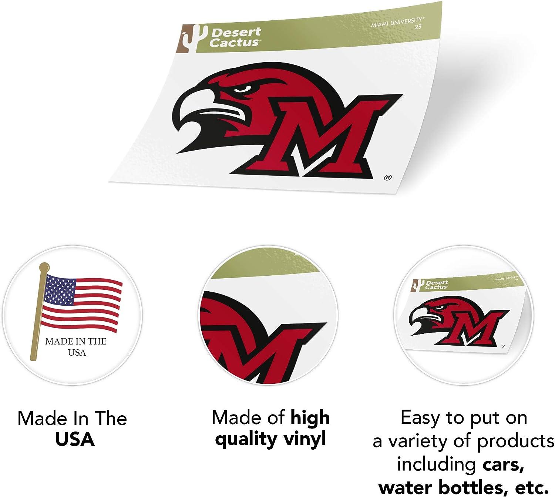 Fan Shop Miami University Ohio NCAA Vinyl Decal Laptop Water ...