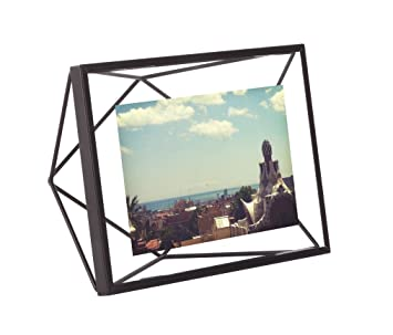 umbra prisma picture frame 4 by 6 inch black