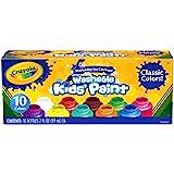 Crayola BIN541205BN Washable Kid's Paint, 10 Bottles Per Pack, 3 Packs