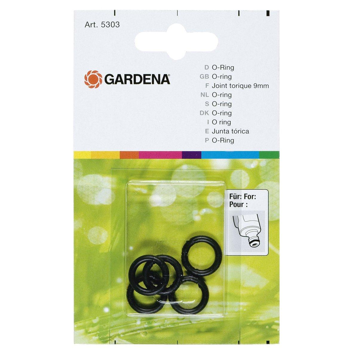 5303-20 Gardena Joint Torique Bague d/Étanch/éit/é pour Raccord sur les Pulv/érisateurs et Gicleurs