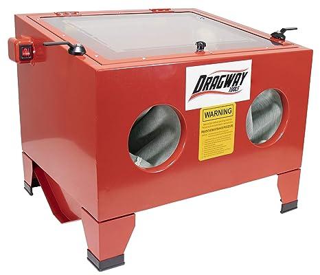 Dragway Tools Model 25 Bench Top Sandblasting Sandblast Cabinet Gun and  Nozzles