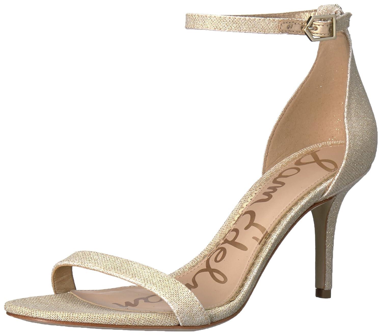 Sam Edelman Women's Patti Dress Sandal B01NAIUK9L 6 B(M) US|Jute Glitzy Fabric