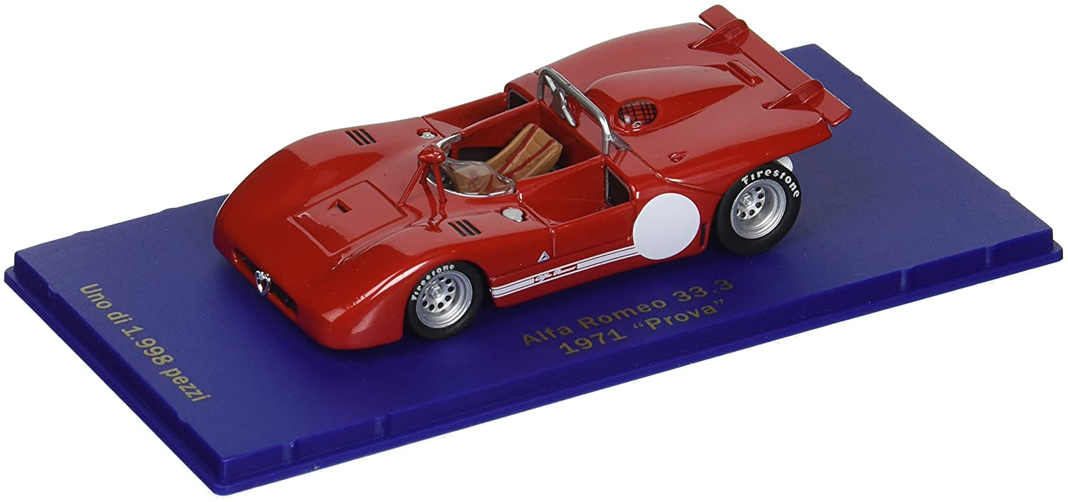 Alfa Romeo 33 Test Car 71 ROT (1/43 M47020) (japan import)