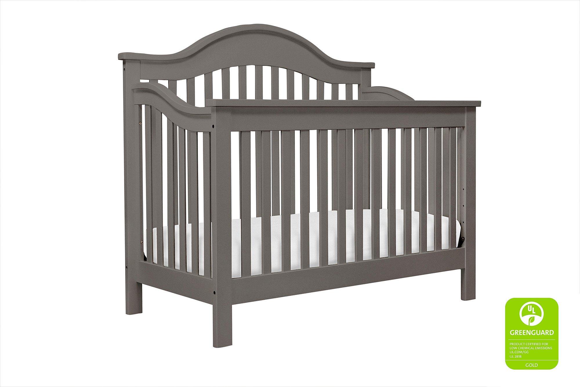 DaVinci Jayden 4-in-1 Crib Full Size Conversion Kit Bed Rails - Slate