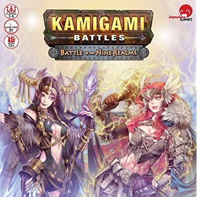 Kamigami Battles: Battle of The Nine Realms Card Game: Toys & Games [5Bkhe1402820]
