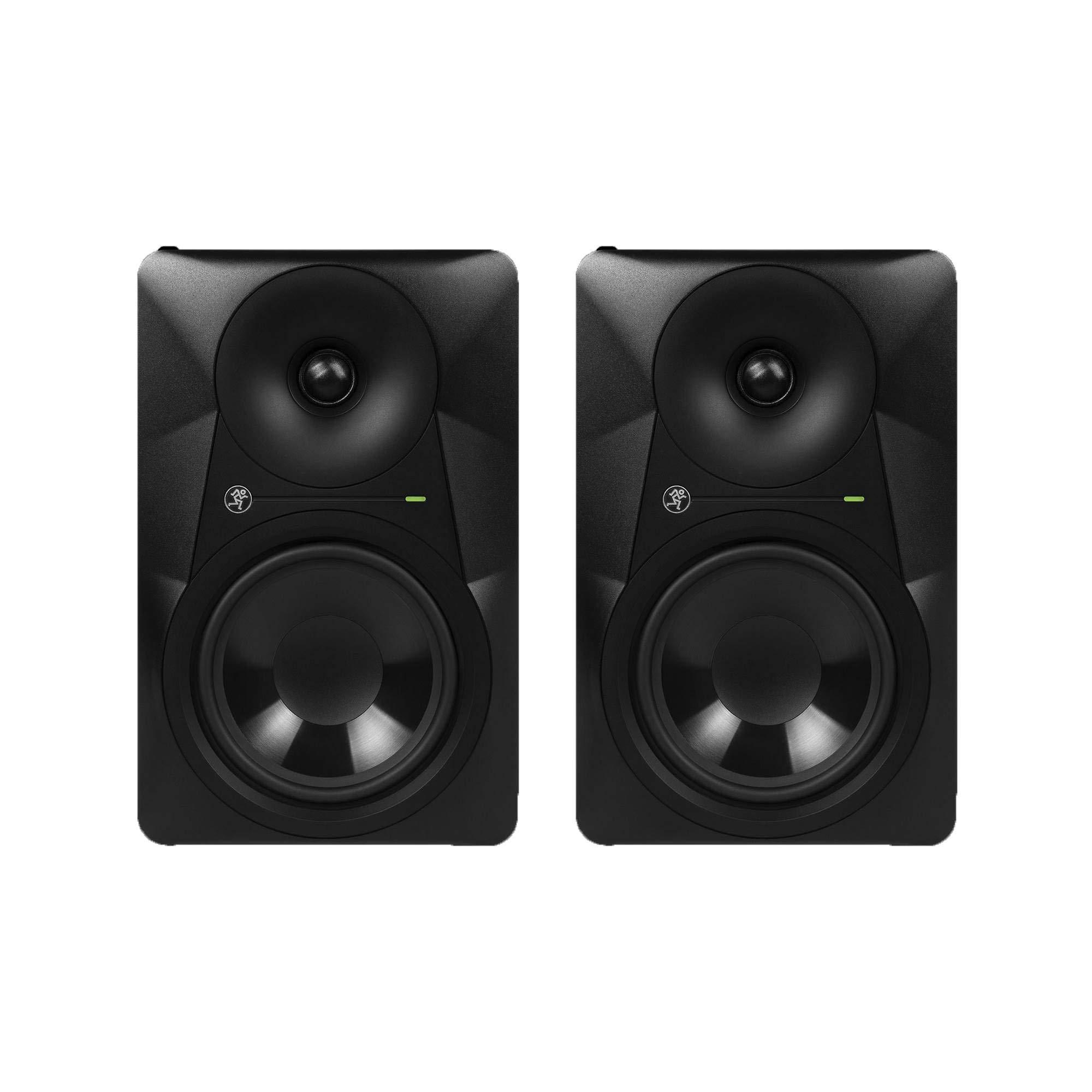 Mackie Acoustic Design 6.5 Inch 65 Watt Mixing Powered Studio Monitor (2 Pack) by Mackie