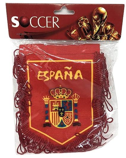 Amazon.com: Pendiente del equipo de fútbol Espana de España ...
