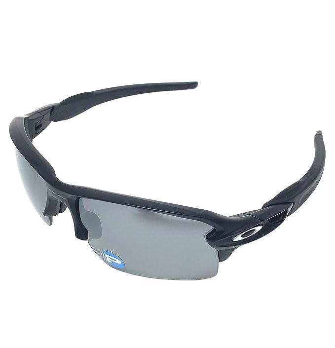 0b0411545f Oakley Flak 2.0 XL 9188-53 Matte Black Black Iridium Polarized Sunglasses   Amazon.ca  Clothing   Accessories