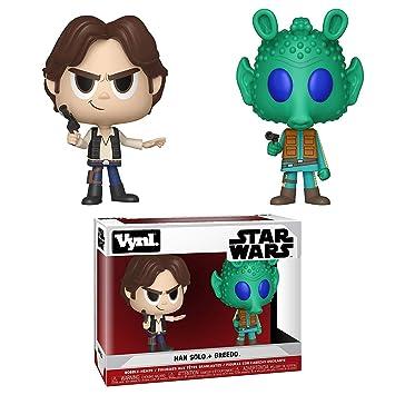 Funko Vynl: Star Wars - Han Solo & Greedo Collectible Figure, Multicolor