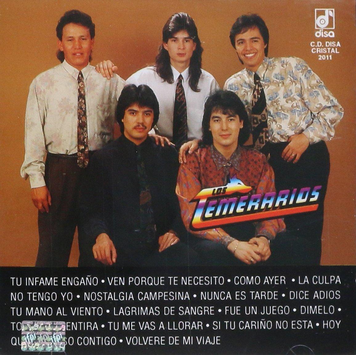 Disa Cristal Los Temerarios 15 Super Exitos Vol 1 Amazon Com Music Stations similar to los temerarios radio. los temerarios 15 super exitos vol 1