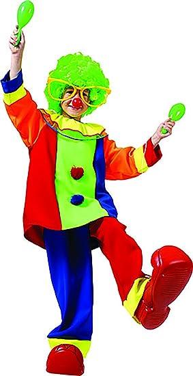 karnevals Bud - Oversize Disfraz de payaso con muchos colores para ...