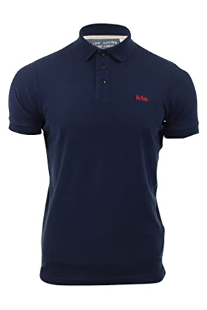 a8775aeb8 Image Unavailable. Image not available for. Colour: Lee Cooper Mens Pique Polo  Shirt ...